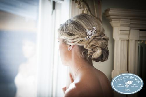 Bride's Changign Room Vicki Updo