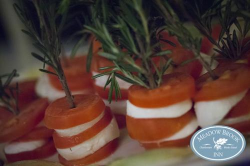 Food Tomato  Mozz Napoleons